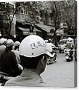 Usa And Hanoi Canvas Print