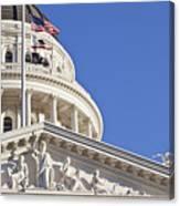 Usa, California, Sacramento, California State Capitol Building Canvas Print