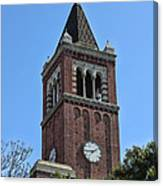 Usc's Clock Tower Canvas Print