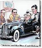 Used Car Salesmen Canvas Print