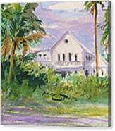 Usepa Island House Canvas Print