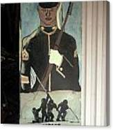 Usmc Mural  Canvas Print