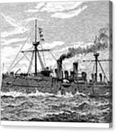 Uss Baltimore, 1890 Canvas Print