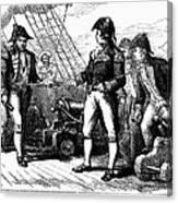 Uss Chesapeake, 1807 Canvas Print