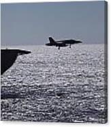 U.s.s. Coral Sea Aircraft Carrier Canvas Print