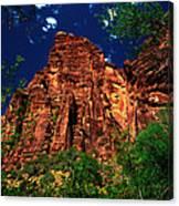 Utah - Zion National Park - Angels Landing Canvas Print