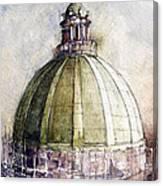 Utah Capitol Reconstruction Canvas Print