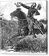 Utes: White River Attack Canvas Print