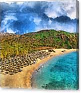 Vai Beach Canvas Print