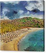 Vai Beach II Canvas Print