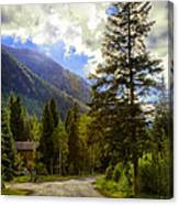 Vail Country Road 1 Canvas Print