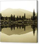 Vail Reflections Canvas Print