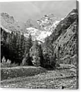 Val Di Cogne In The Italian Alps Canvas Print