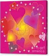 Valentine 2012 Canvas Print