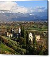 Valle Di Comino Canvas Print