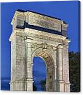 Valley Forge Memorial Arch Canvas Print