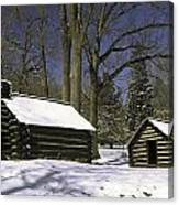 Valley Forge Winter Canvas Print