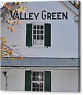 Valley Green Inn - Side View Canvas Print