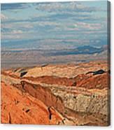 Valley Of Fire Nevada Canvas Print