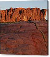Valley Of Fire Rockscape Canvas Print