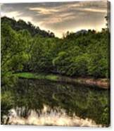 Valley River Canvas Print