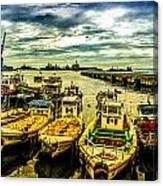 Valparaiso Bay Canvas Print