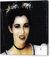 Vampire Bride Canvas Print