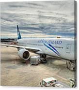 Vancouver Airport Canvas Print