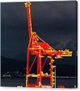 Vancouver, Bc - Harbour Canvas Print