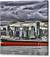 Vancouver Freighter Hdr Canvas Print