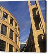 Vancouver Library Building Canvas Print