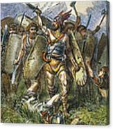 Vandal Invasion Of Rome Canvas Print