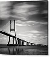 Vasco Da Gama Bridge IIi Canvas Print