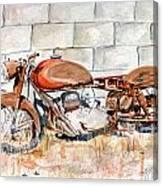 Vecchia Gilera Canvas Print