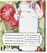 Vegetable Oil Ad, 1926 Canvas Print