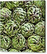Vegetables In A Market In Lima, Peru Canvas Print