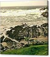 Velencia Island Shore Canvas Print