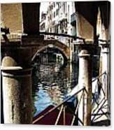 Venec Street Canvas Print
