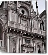 Venetian Architecture Iv Canvas Print