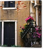 Venezia Balcony Canvas Print