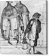 Venice: 18th Century Canvas Print