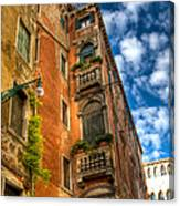 Venice Apartment  Canvas Print
