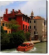 Venice Canals 7 Canvas Print