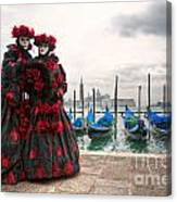 Venice Carnival Mask Canvas Print