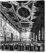 Venice: Doges Palace Canvas Print