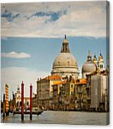 Venice Entryway Canvas Print