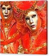 Venice Masks Canvas Print