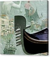 Venice Montage Canvas Print