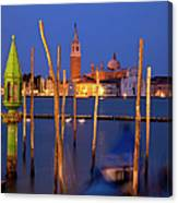Venice Night Canvas Print