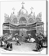 Venice: Tournament Canvas Print
